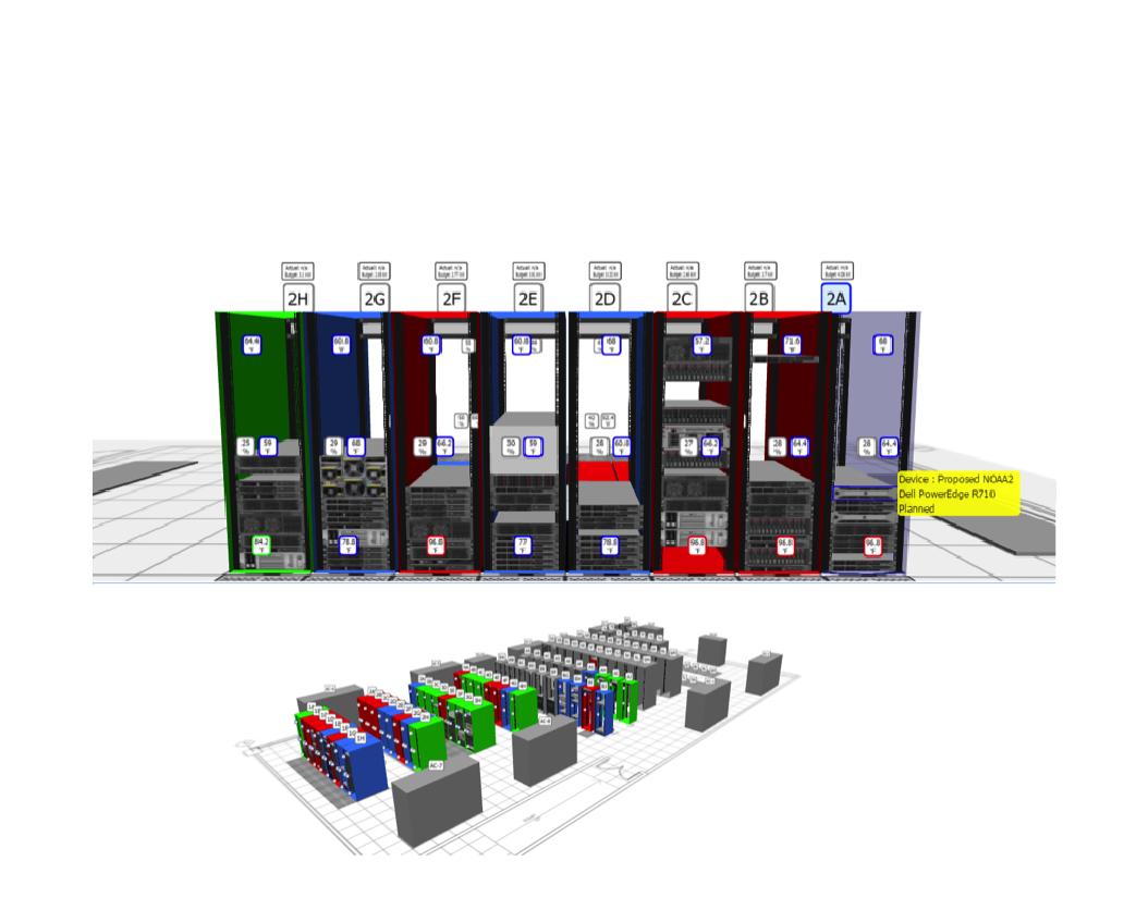 Screenshot of 3D Visualization