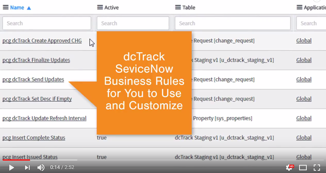 How to Integrate ServiceNow with dcTrack® [VIDEO] | Sunbird DCIM