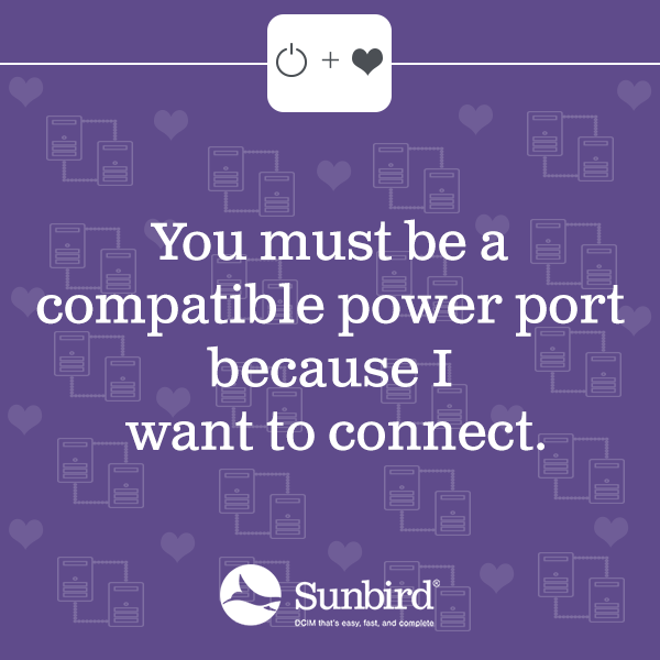 You must be a compatible power port, because I want to connect.