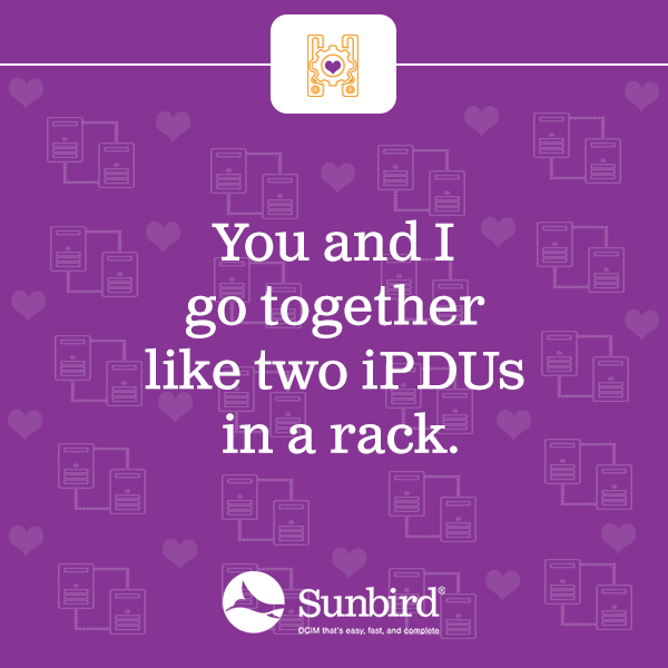 You and I go together like two iPDUs in a rack.