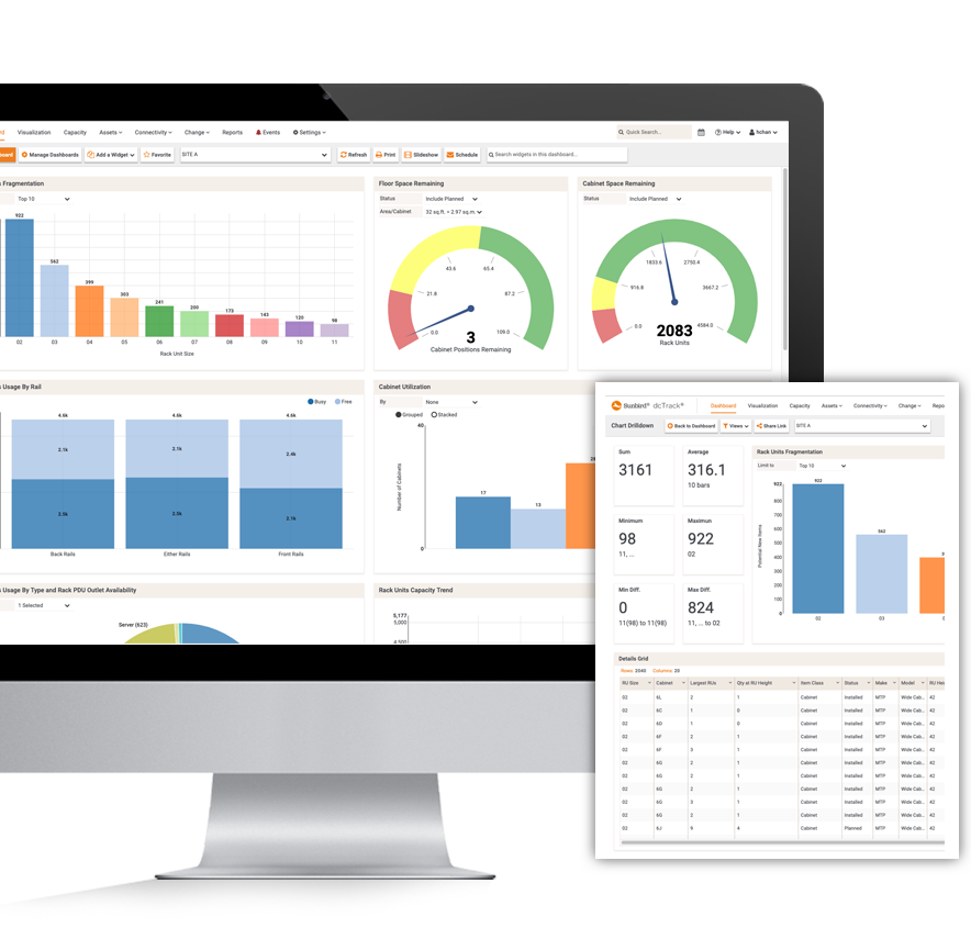 Data Center Analytics Dashboard