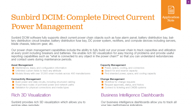 Complete Direct Current Power Management