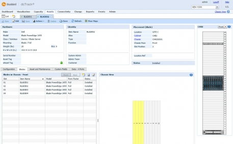 Blade and Chassis Asset Management