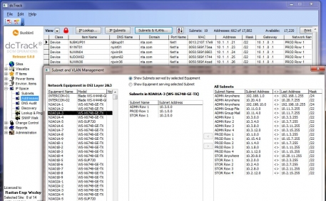 IP Address and VLAN Management