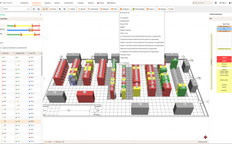 Screenshot of Multiple Floor Map Reports