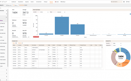 Screenshot of Zero-Configuration Interactive Reports and Visual Analytics