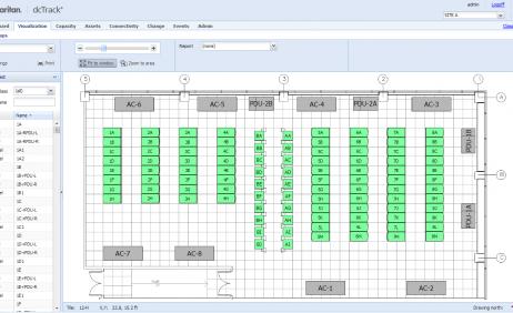 Data center floor plan sunbird dcim for Data center floor plan